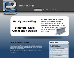 RexConn Design | Structural Steel Connection Design