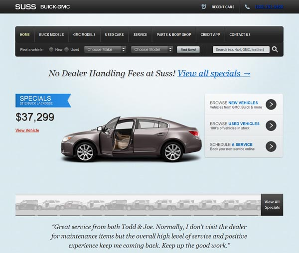 Best Buick Gmc Dealership: Great Web Designers You Should Know About