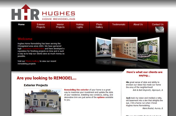 case study websites created without photoshop