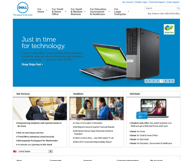 Dell Official Site The Power To Do More Dell