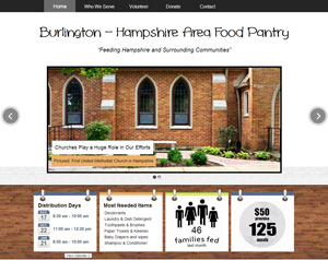 Burlington Hampshire Area Food Pantry