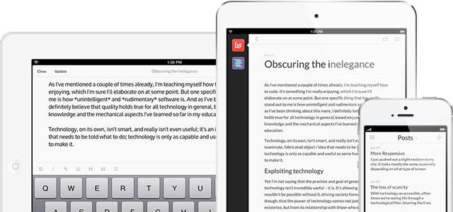 Poster: WordPress iPad App