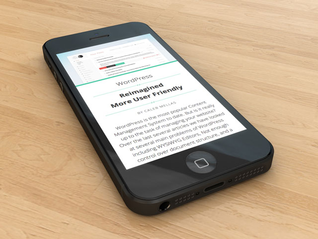 Mobile reading experience