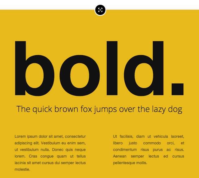 Bold - typespiration.com