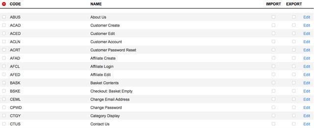 Miva Data Tables: Redesigned