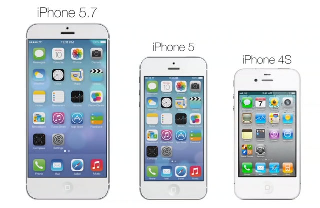 iPhone 5.7 concept