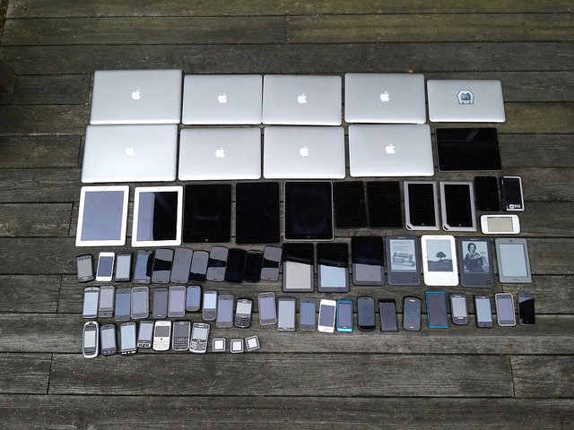 Vast sea of web-capable devices